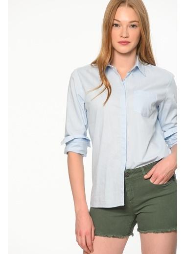 Oxford Gömlek-Mavi